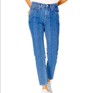 Tommy Hilfiger 1990 high rise straight leg jeans